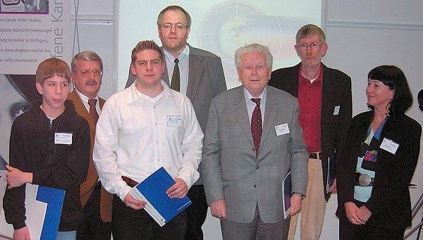 Read more about the article LPR zeichnet sieben Preisträger mit dem Fördepreis für Offene Kanäle 2003 aus