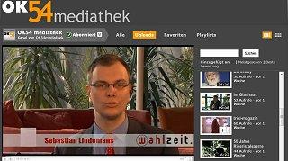 Read more about the article Die OK54-Mediathek wird drei Jahre alt