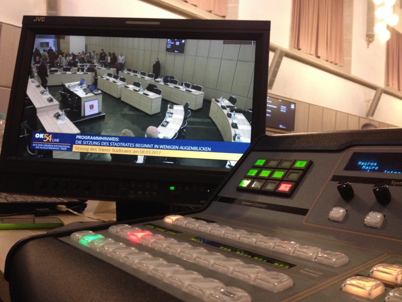 Stadtratssitzung Stadtratsfernsehen