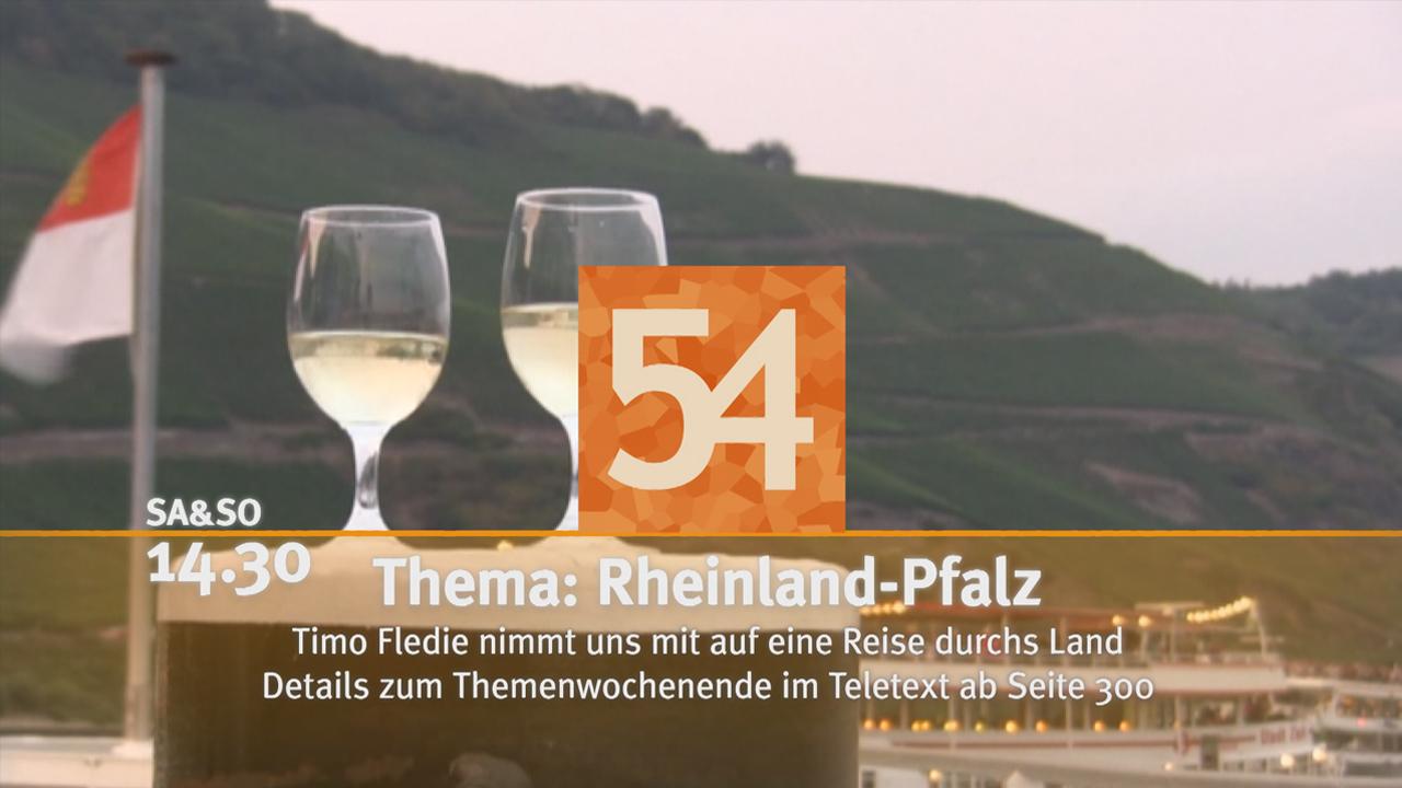 Themenwochenende Rheinland-Pfalz