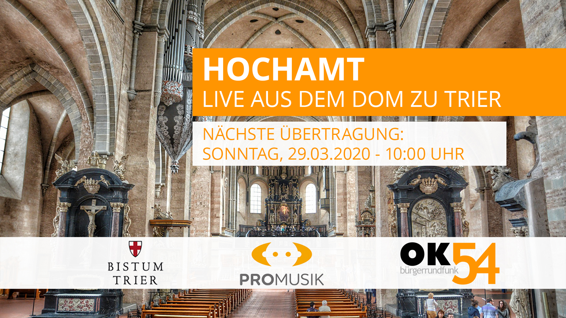 You are currently viewing Hochamt live aus dem Dom