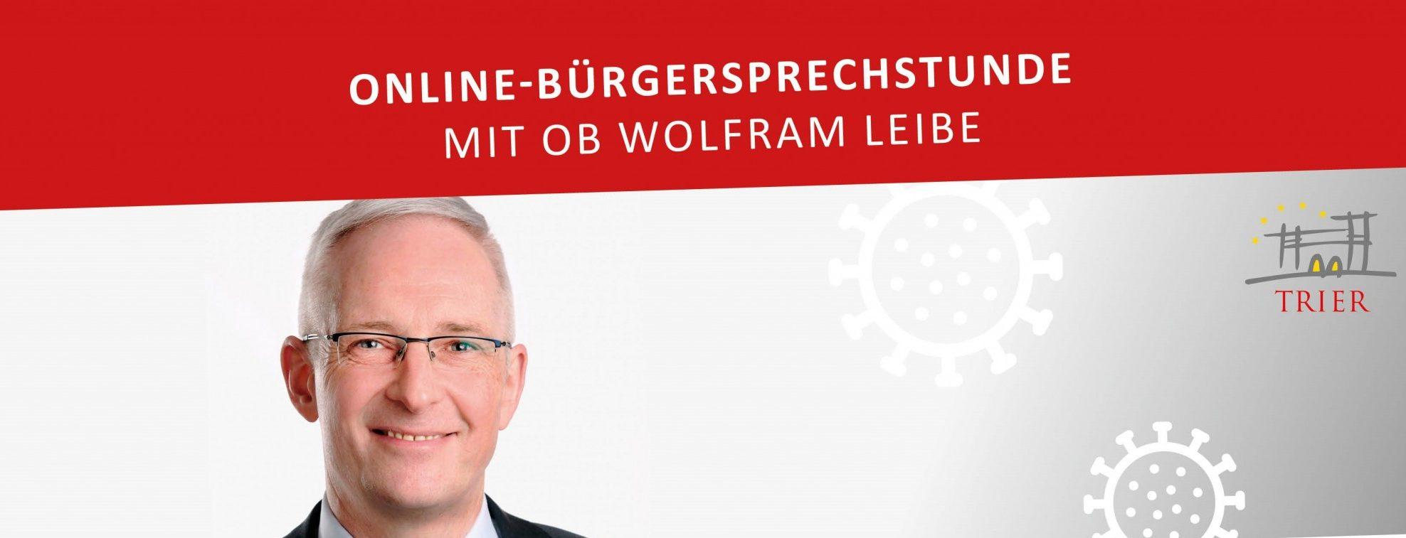 Read more about the article Digitale Bürgersprechstunde: OB Leibe am Freitagabend wieder live bei OK54