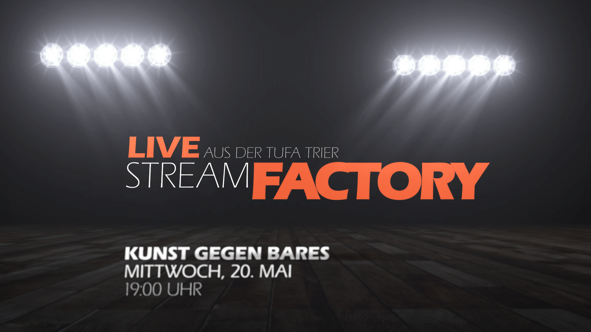 You are currently viewing LIVE: Kunst gegen Bares