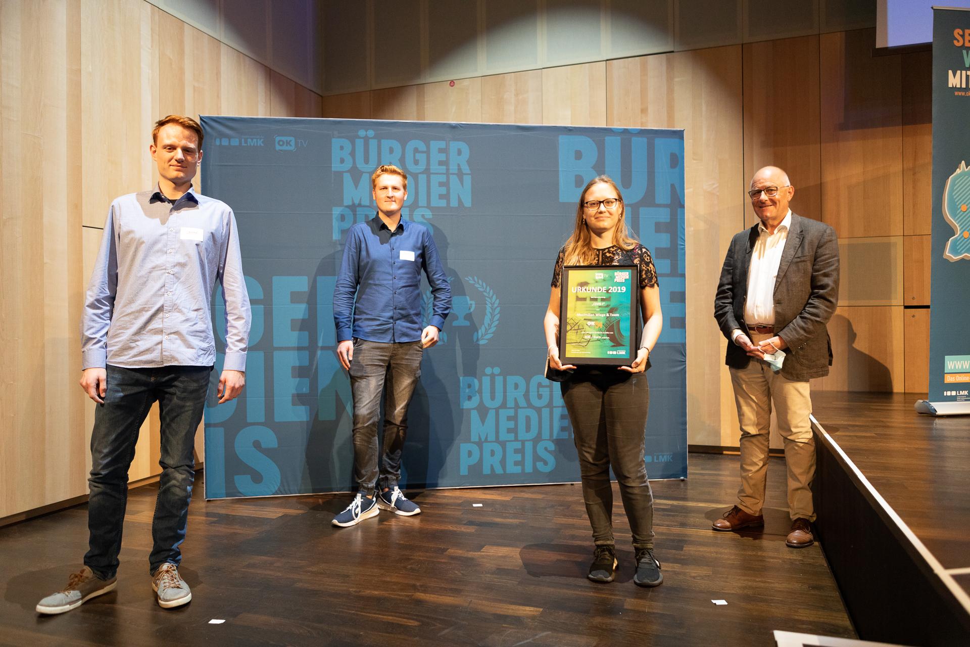 Read more about the article Gleich zwei Bürgermedienpreise für Trierer Filmemacher*innen