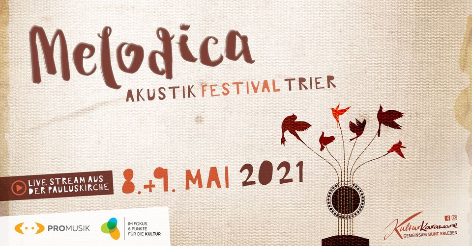 Read more about the article Das Melodica Akustik Festival Trier am Samstag und Sonntag live bei OK54