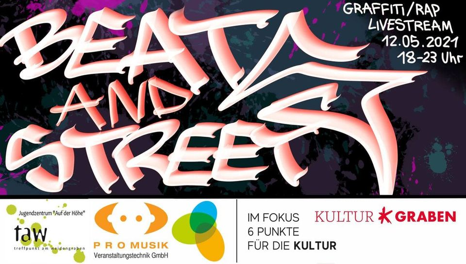 Read more about the article Mittwoch: BEATS and STREETS live bei OK54
