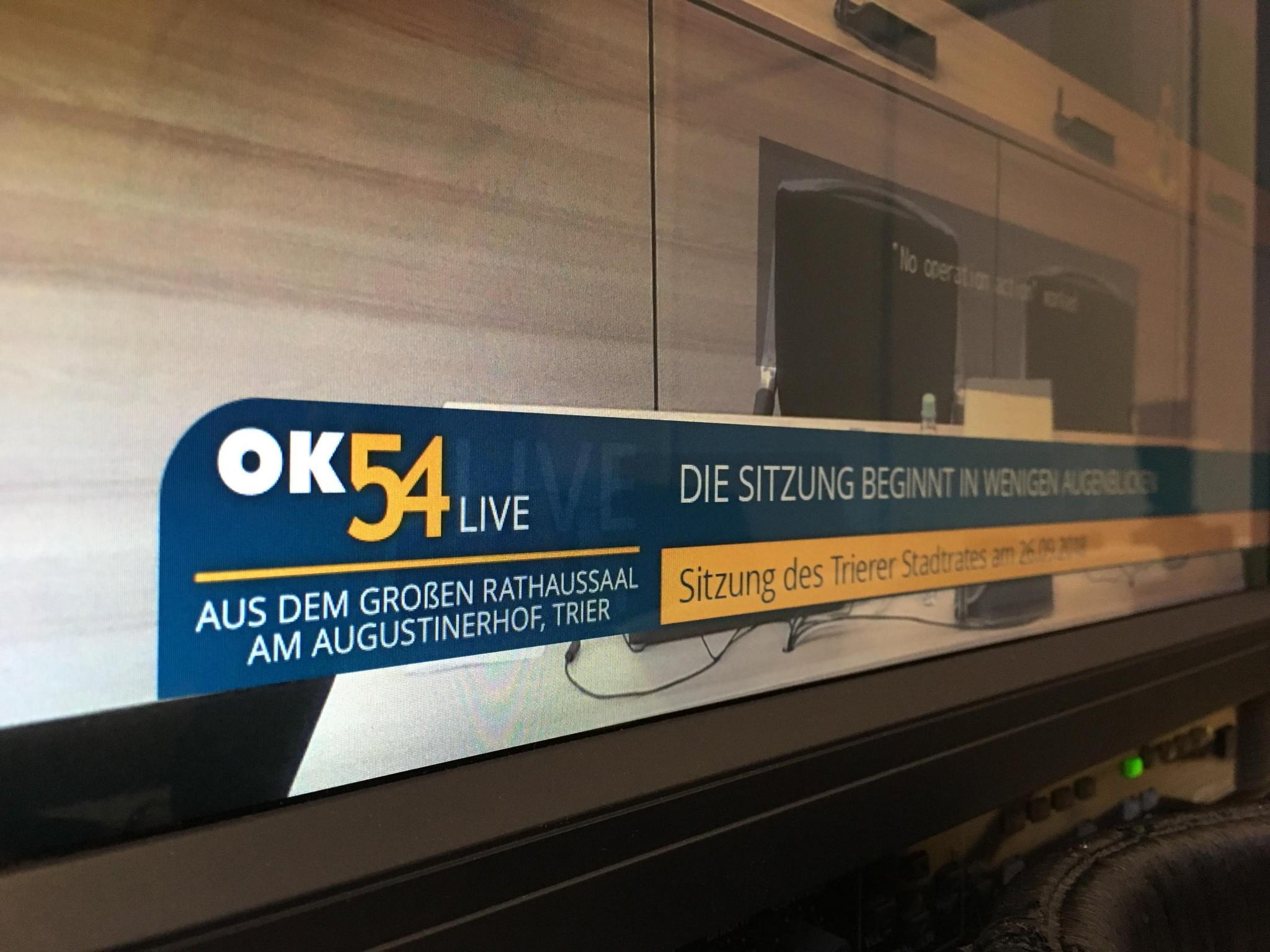 Read more about the article OK54 sendet heute ab 17:00 Uhr live aus dem Rathaus