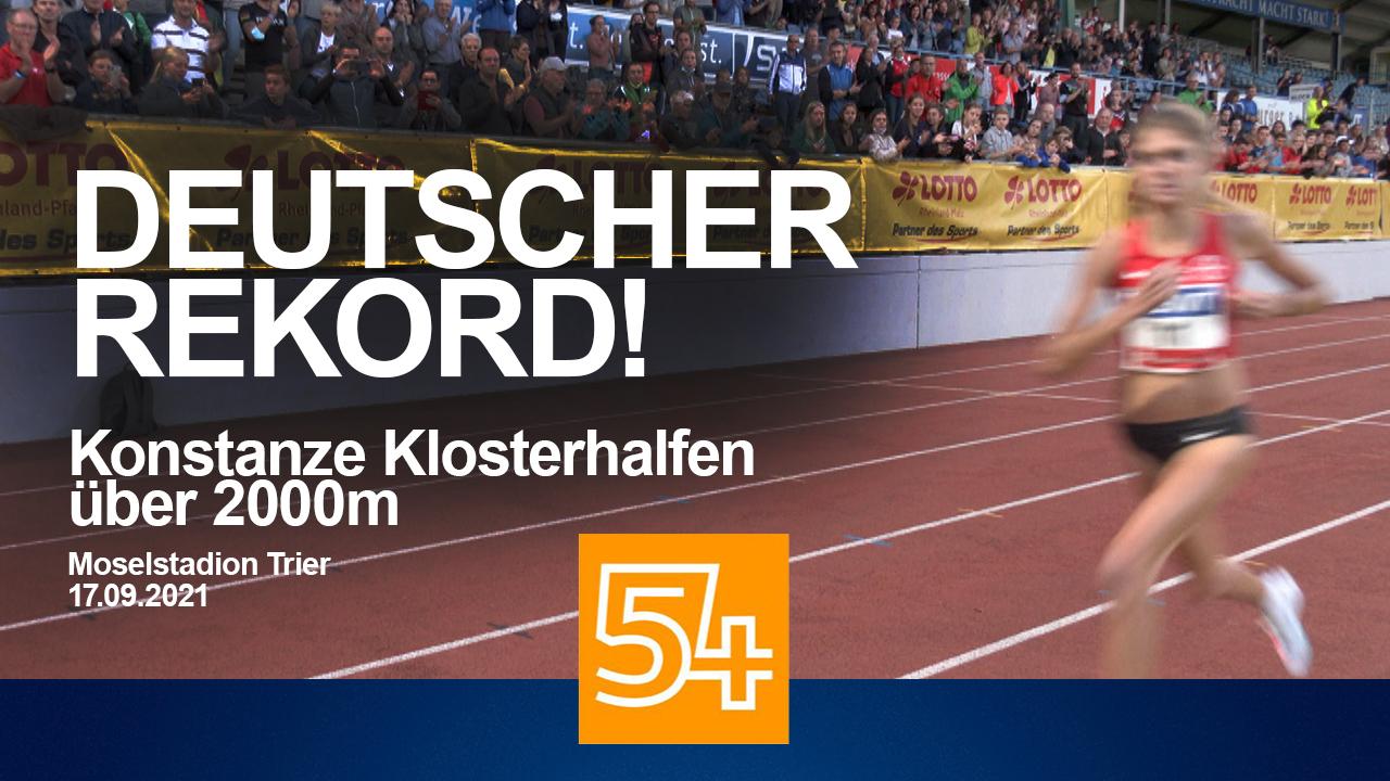 Read more about the article Klosterhalfens deutscher Rekordlauf im Moselstadion in voller Länge
